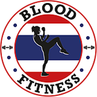 blood fitness Logo